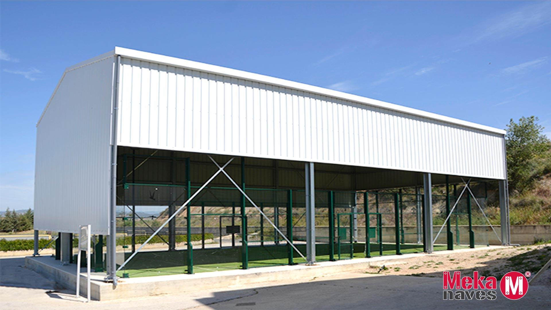 Bâtiments pour les installations sportives