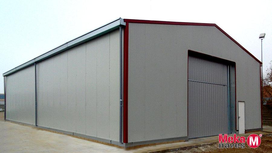 bâtiment industriel préfabriqué